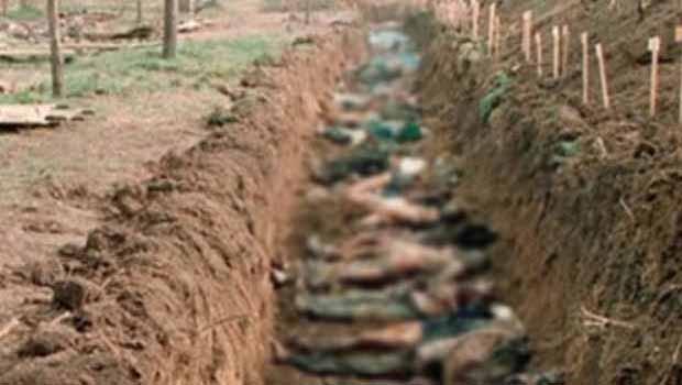 IŞİD'den kurtarılan bölgede toplu mezar bulundu