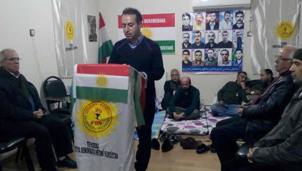 PDNK Doğu Kürdistan'daki tutuklulara destek amaçlı açlık grevine başladı