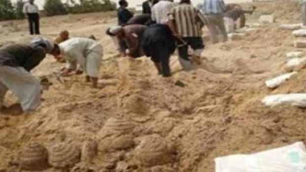 Suriye'de 75 kişilik toplu mezar bulundu