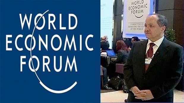 Başkan Barzani Davos'a katılıyor