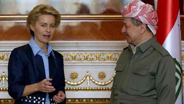 Almanya Savunma Bakanı: Dünyada IŞİD'i yenecek tek güç Kürtlerdir