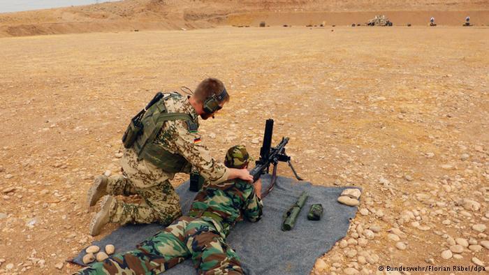 Almanya'nın IŞİD'e Karşı Kürdistan'a Desteği Devam Edecek