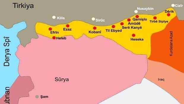Esadların Suriye'si, Kürdistan'ın Rojava'sı ve Kobanê Direnişi