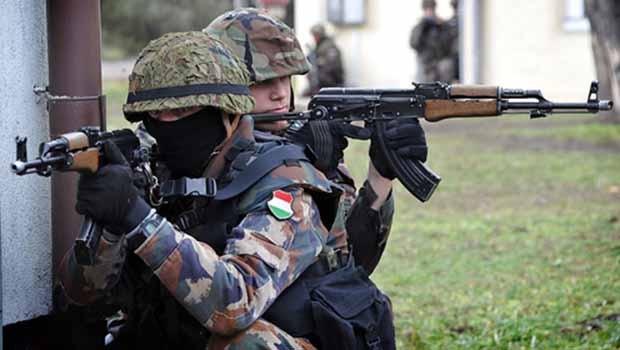 Macaristan'dan Kürdistan Bölgesi'ne asker