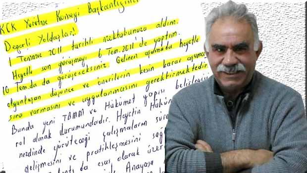 Öcalan'ın Mektupları…