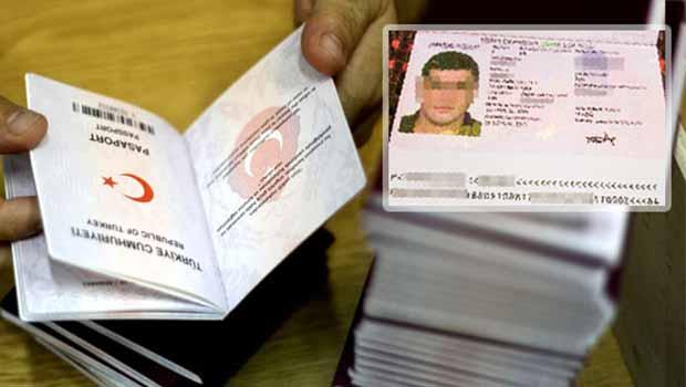 IŞİD'e Türk pasaportu