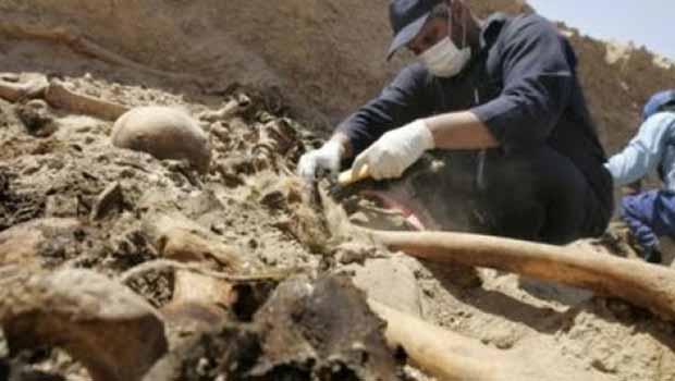 Sadiye'de toplu mezar bulundu