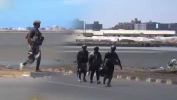 Koalisyon askeri Yemen'e girdi