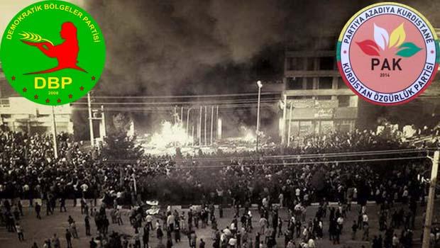 DBP ve PAK'tan Mahabad tepkisi