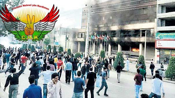Ciwanên Netewî'yên Kurdistan'dan Mahabad destek eylemi