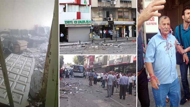 HDP'ye Bombalı saldırılar…..
