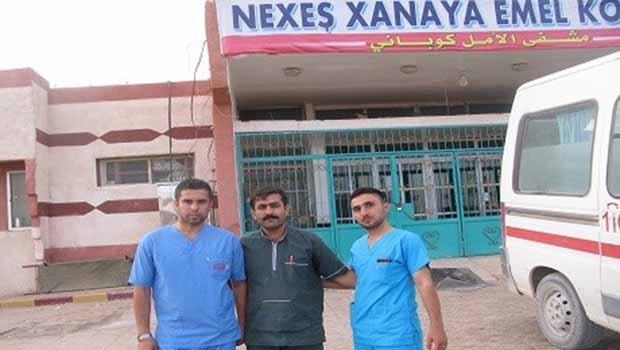 Kobanê'ye İki Hastane
