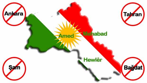 Kürdistan sömürgeci parlamentodan yada İmralı-MİT ittifakıyla Ankara'dan yönetilmez.