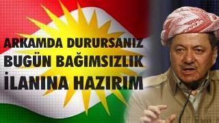 MAKÖV'den Mesut Barzani`ye Destek