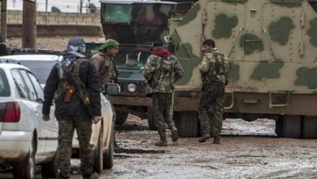 Hasekê'de YPG, IŞİD ve Esad güçleri arasında çatışma