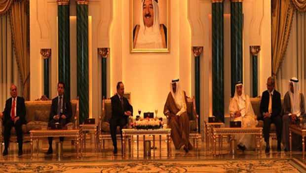 Başkan Barzani Kuveyt'e gitti