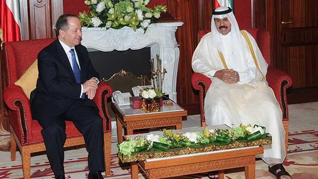 Başkan Barzani Kuveyt'te