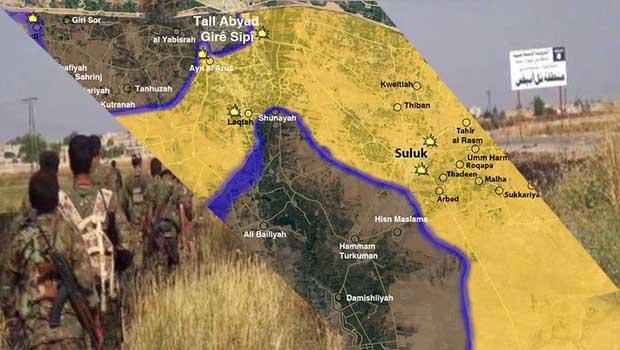 Kobanê ve Cizîre'ye ait Kürd Güçleri birleşti
