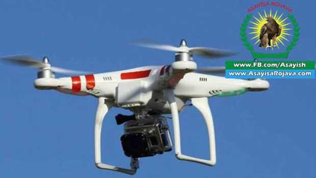 Batı Kürdistan Asayişi'ne 80 İnsansız Hava Aracı