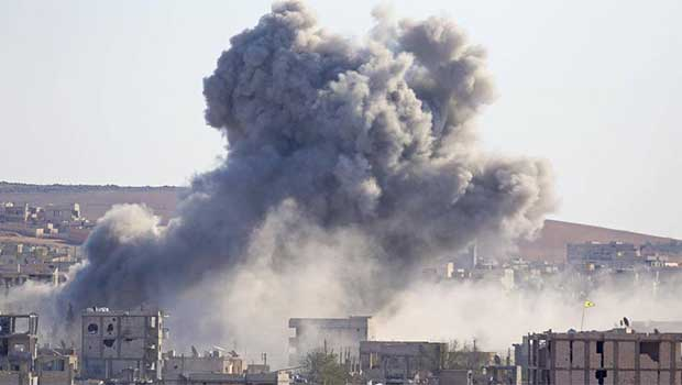 Kobanê'de son durum, 20 IŞİD'li öldürüldü