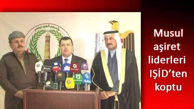 Musullu aşiret liderlerinin IŞİD kararı