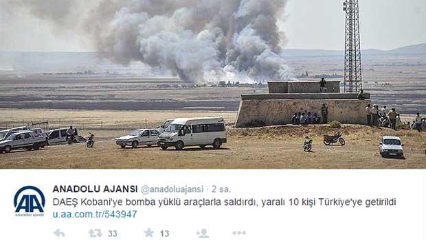 Patlama anını yakalayan AA'ya 'Kobanê' soruları: Sabah 4'te o bölge neden izleniyordu?