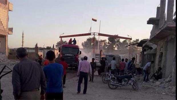 [VİDEO] Kobanê'de şiddetli çatışmalar devam ediyor