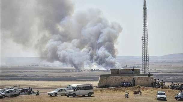 YPG: Teröristler Kobanê'ye batıdan araçlarla girdiler