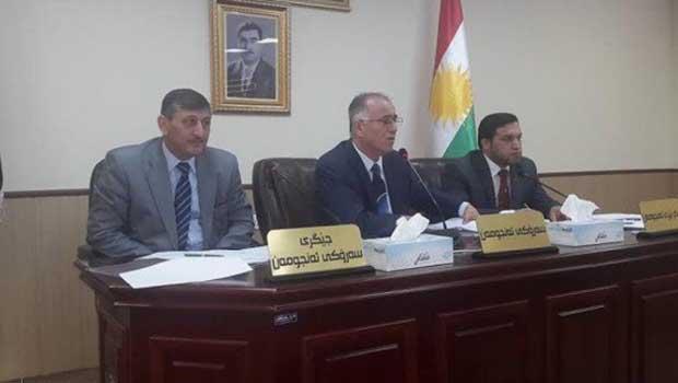 Erbil İl Meclisi'nden Türkçe ve Süriyanice açılımı