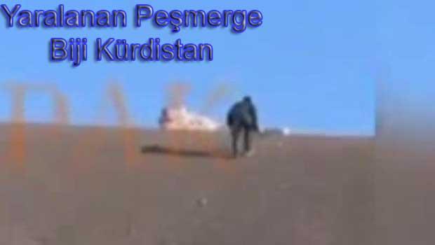 Peşmergenin IŞİD mayınına bastığı dehşet anı [VİDEO]
