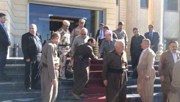 Başkan Barzani Kerkük'te [VIDEO]