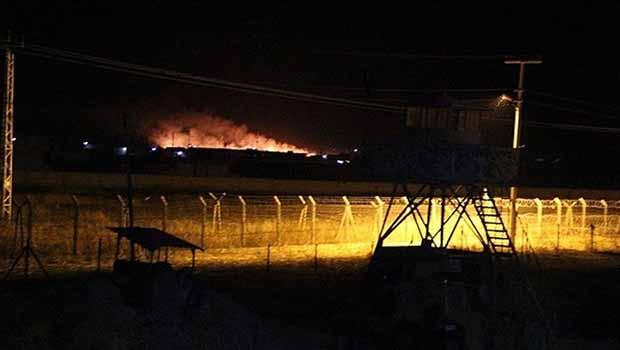 Serêkanîyê'de bulunan YPG cephaneliğinde patlama