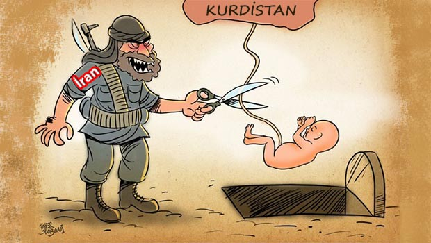 İran'ın Mesut Barzani ve Kürdistan korkusu