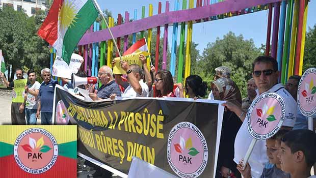 PAK Birçok Yerde Suruç Katliamını Protesto Etti