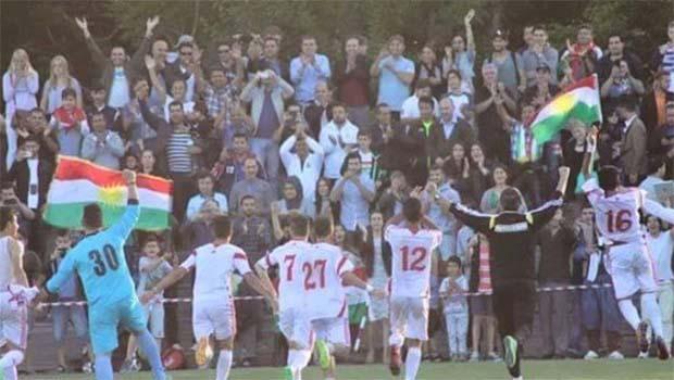 Kürdistan'ın Genç Millileri Şampiyon Oldu