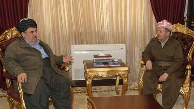 Barzani'den Mahmûd Hecî'ye kutlama