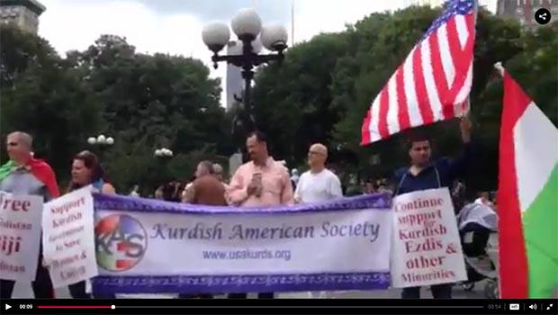 Kürt  Amerikan Toplumu: Barzani Görevde Kalmalı