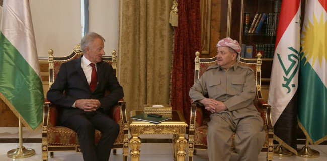 Barzani: Ortadoğu savaşları devam ettiği sürece bu insanlık dramı devam eder