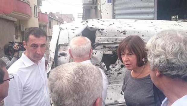 AP heyeti Cizre'yi ziyaret etti