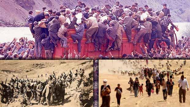 Kürtlerin makus talihi: Göç ve Sürgün