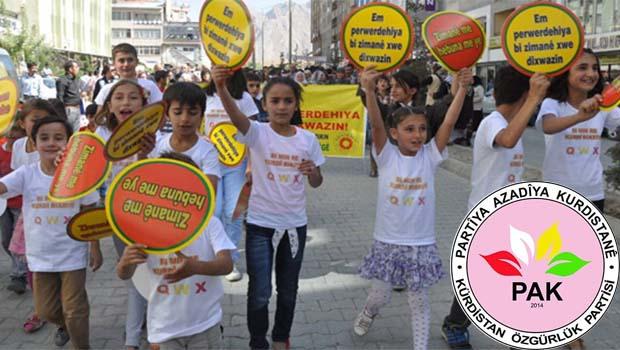 PAK: Anadille Eğitim İçin 1 Günlük Boykot