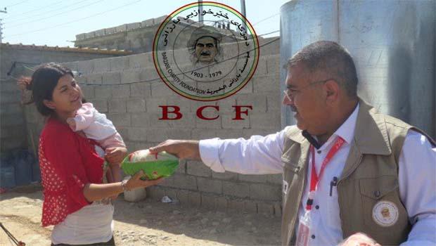 Barzani Yardım Vakfı'ndan bayram yardımı