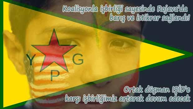 YPG: Yanıltıcı bilgilerin aksine Koalisyonla ilişkilerimiz güçlü bir şekilde devam edecek