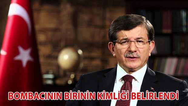 Davutoğlu: Ankara katliamı bombacılarından birinin kimliği kesinleşti