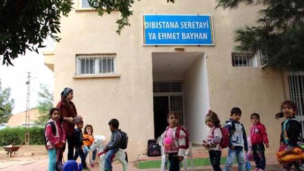 Nusaybin'de Kürtçe eğitim veren okul mühürlendi