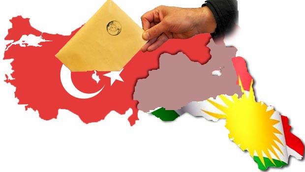 Kürt devleti yakın ve seçim