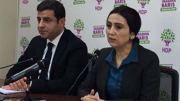 HDP Eş başkanlarından ilk açıklama