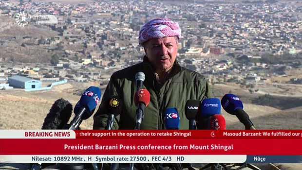 Başkan Barzani: Destan yazıldı!