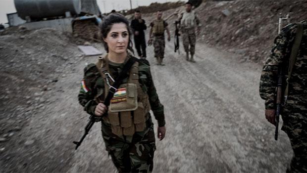 Peşmerge Joanna Palani IŞİD'le Savaşı anlattı!