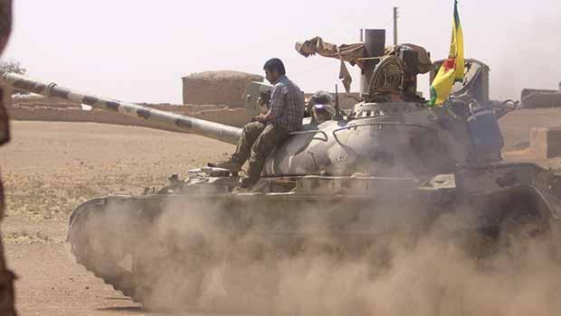 IŞİD'ten Kobanê ve Girê Spî civarına yeni saldırılar